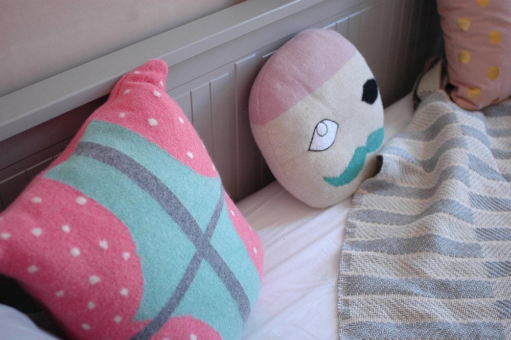 Window cushion: Donna WIlson