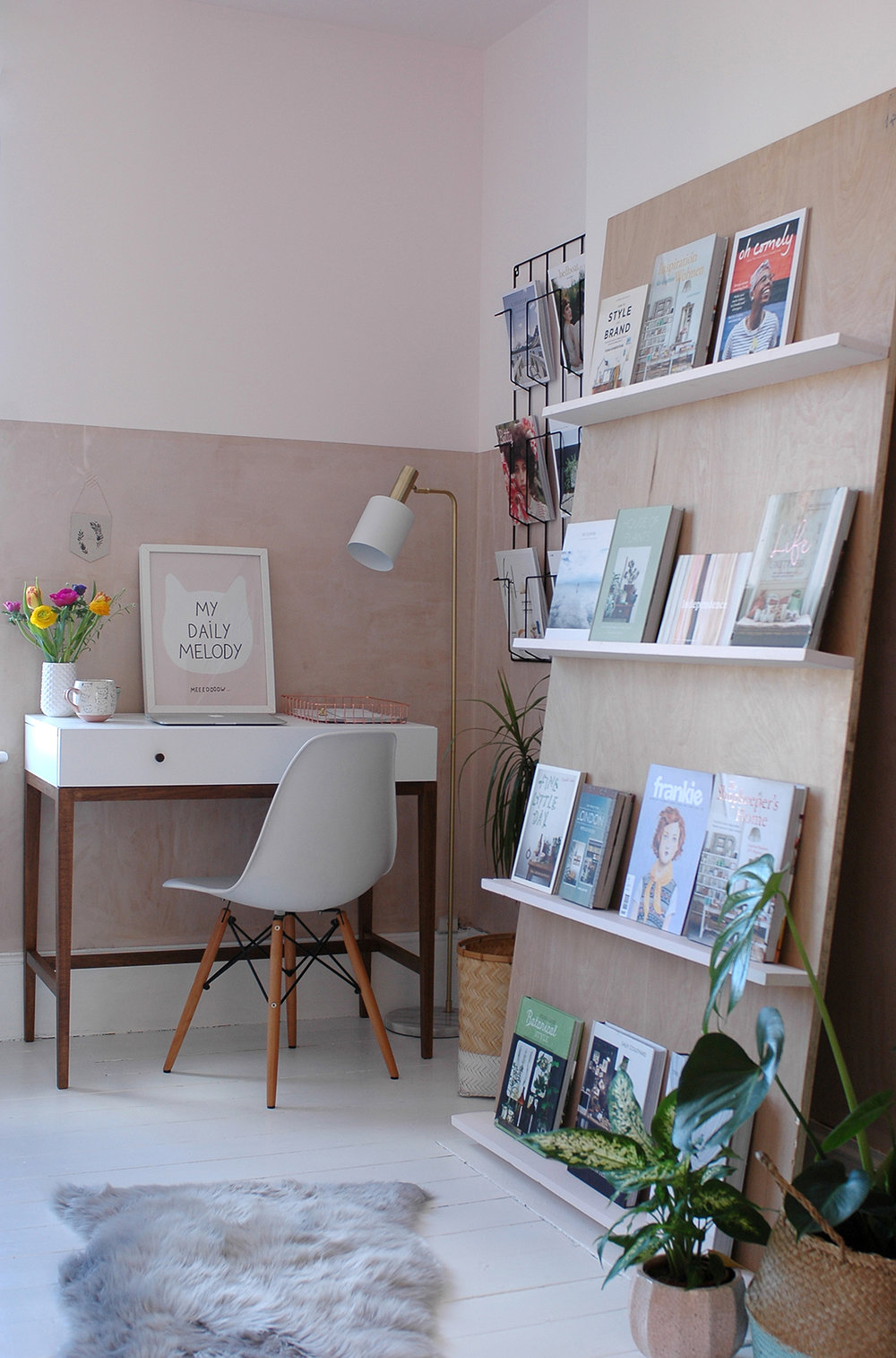 My office makeover reveal
