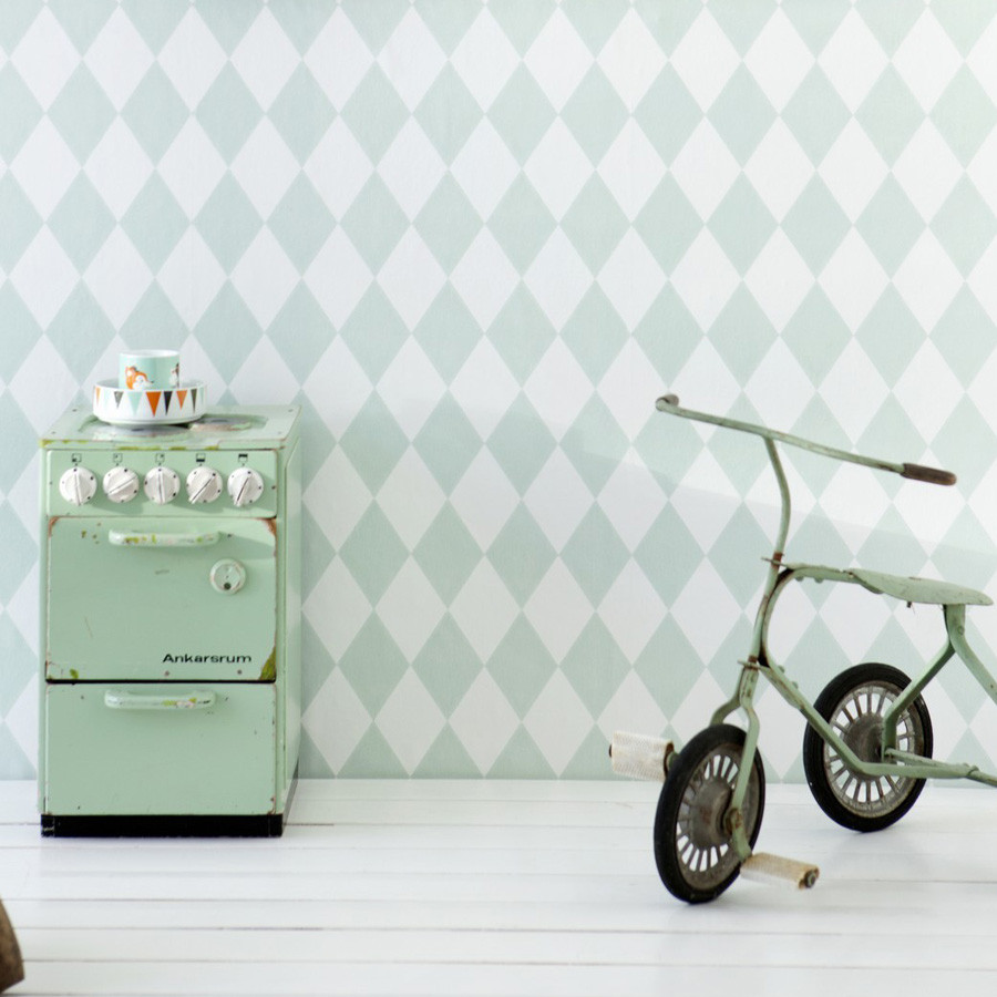 Harlequin in mint - £59.95 - This Modern Life