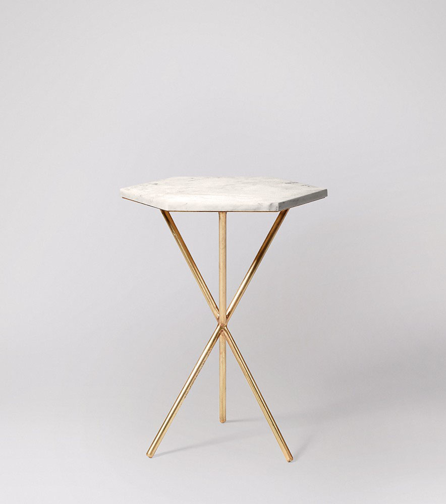 Bilbao side table, £149 - Swoon Editions