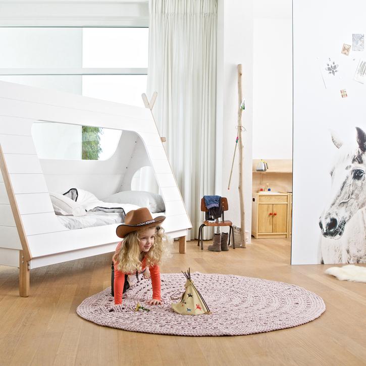 Tipi bed by Deeekhoorn, £399, Nubie (215cmx106cm)