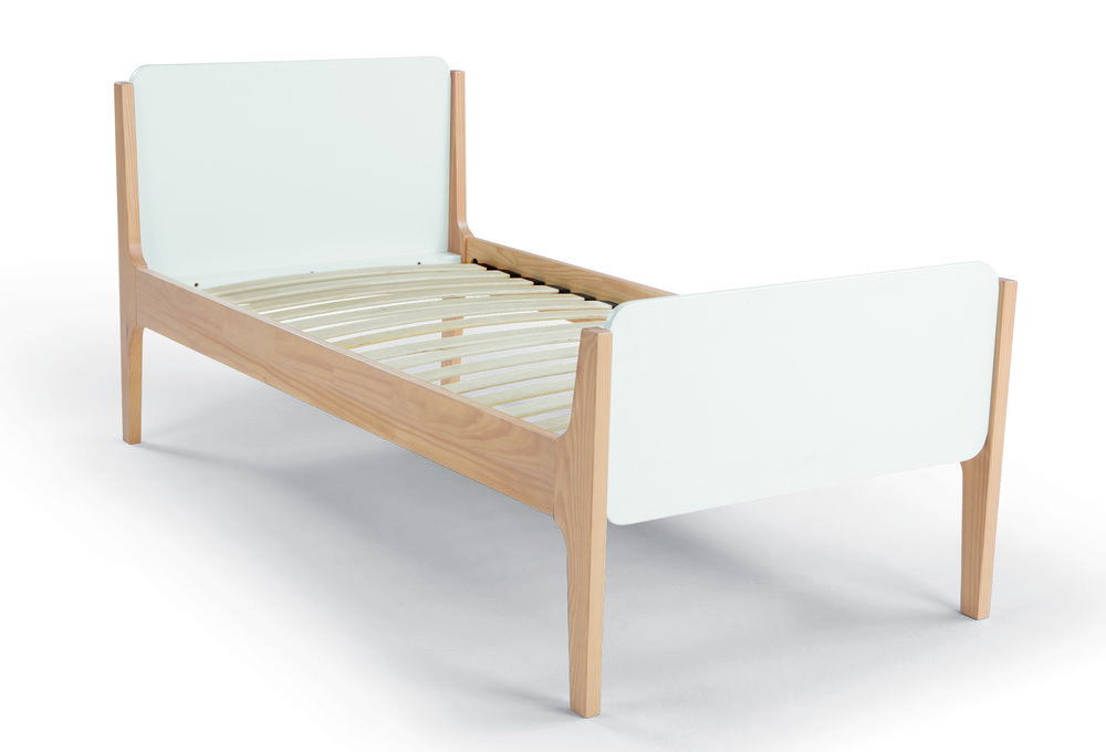 Linus single bed, £219, made.com (198.6cm x 99cm)
