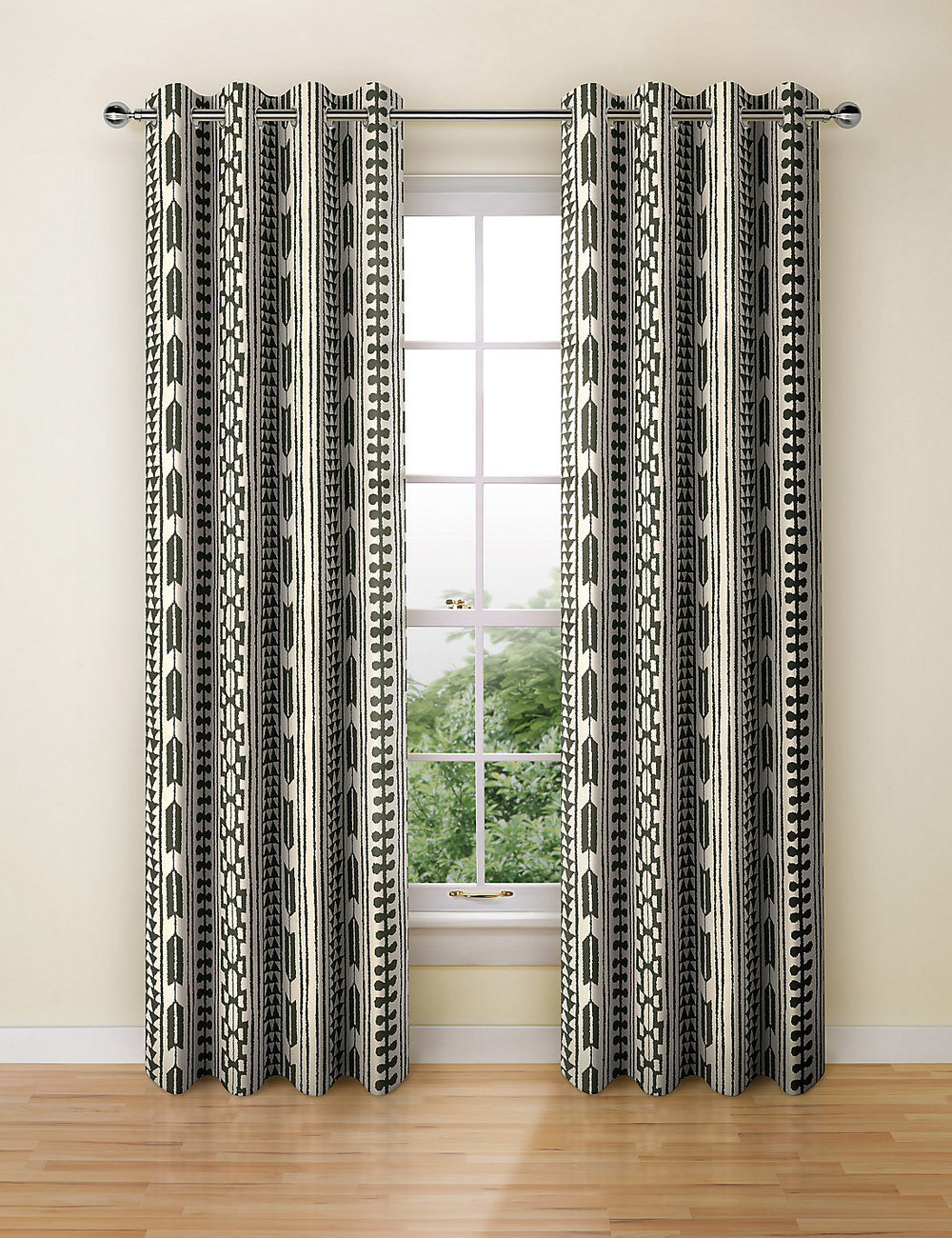 Tribal print curtain - Marks and Spencer - varying sizes and prices