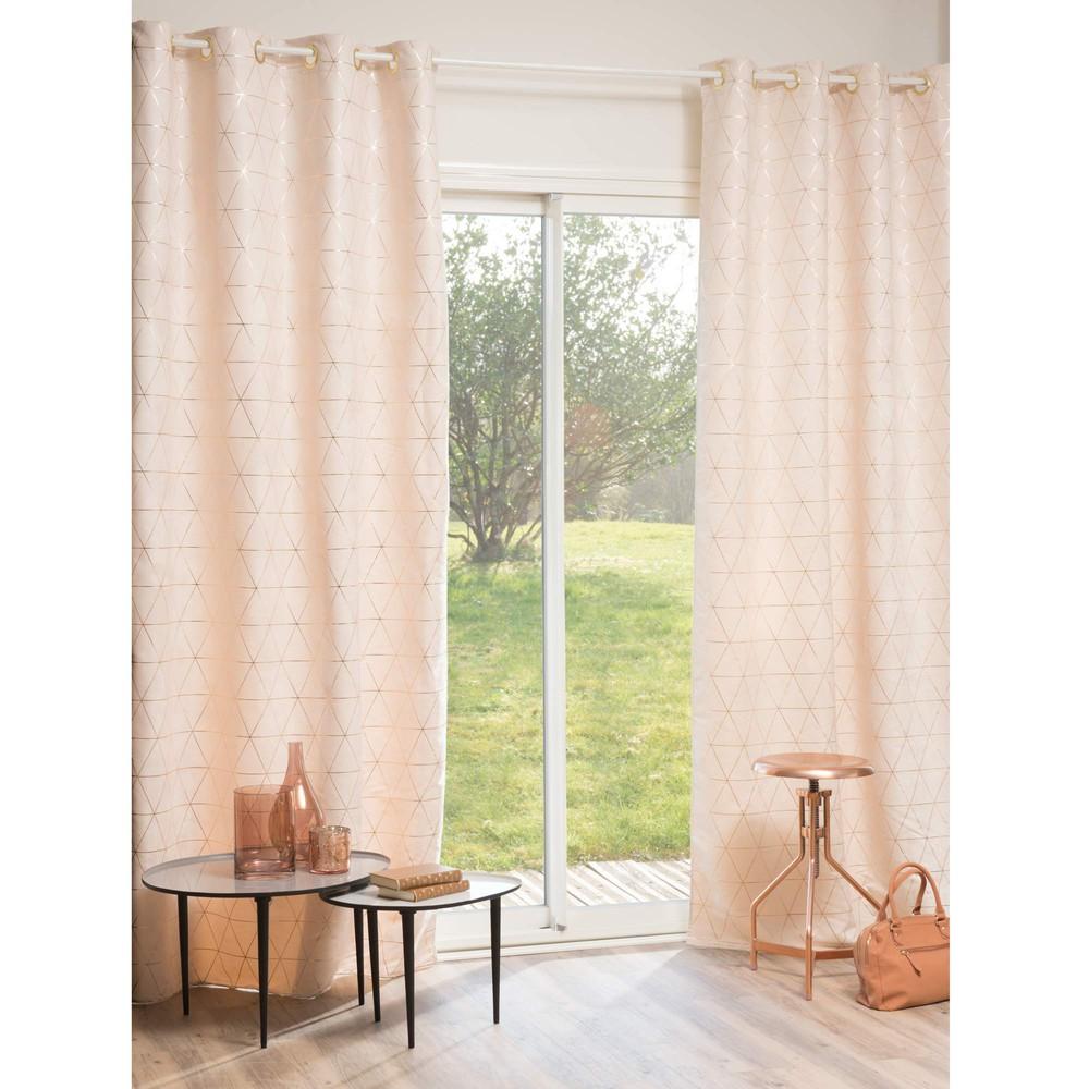 Beige & Gold eyelet curtain- Maison du Monde - £71.99 each