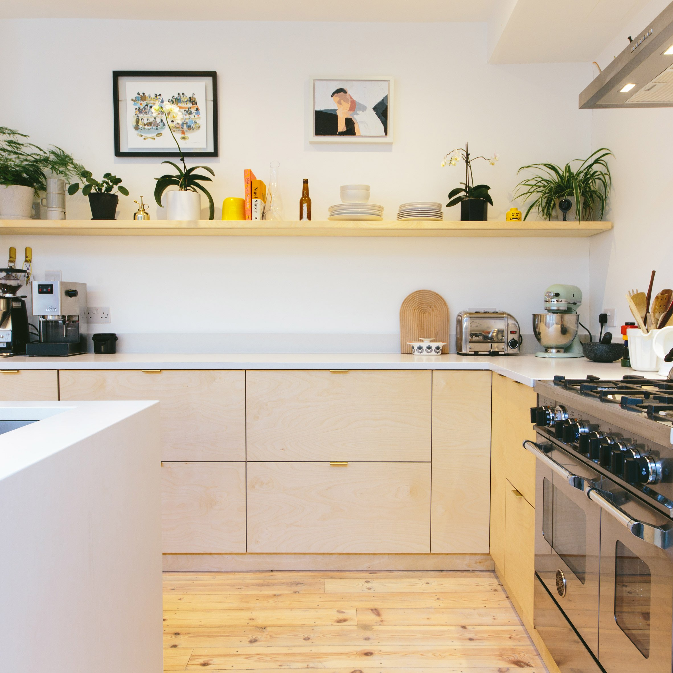 Current obsession: Plywood kitchens — Patchwork Harmony