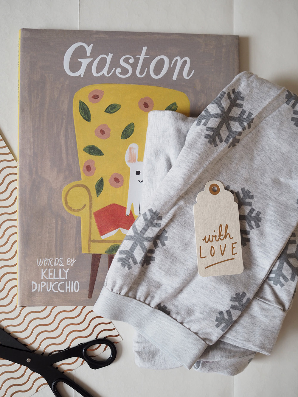Pyjamas and book gift