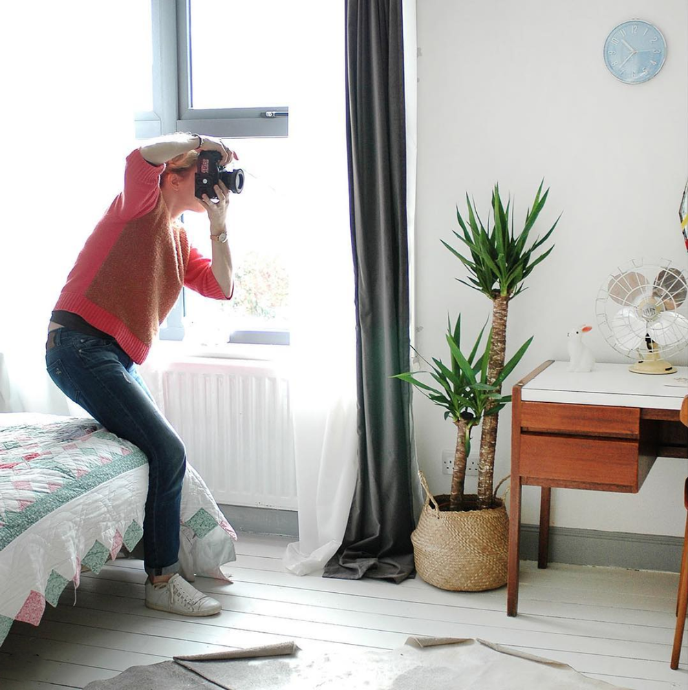 91 Magazine behind the scenes photoshoot