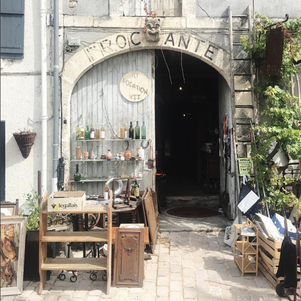 Brocante in the Dordorgne, France