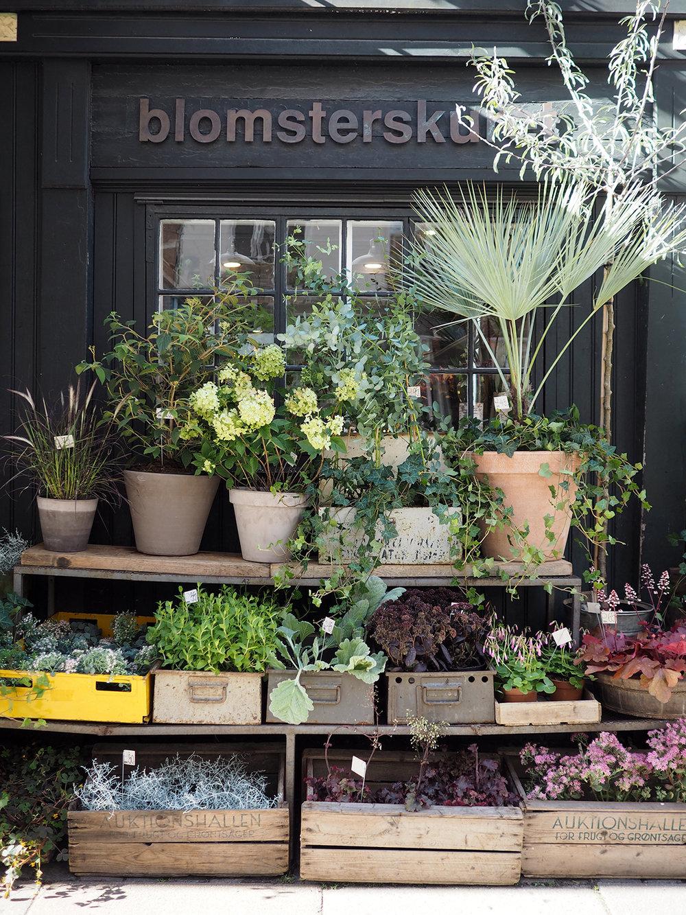 Copenhagen flower shop