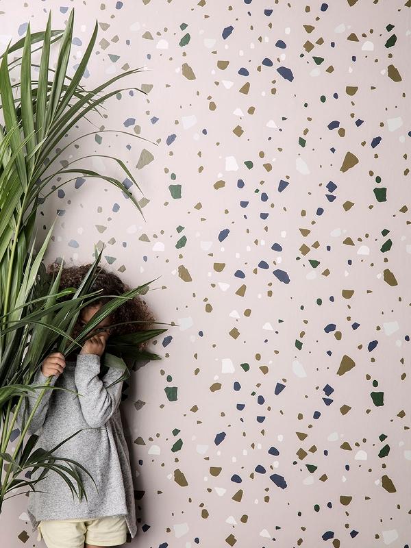 Terrazzo wallpaper  - Ferm Living