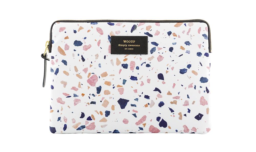 Terrazzo pattern iPad sleeve - Design Delicatessen