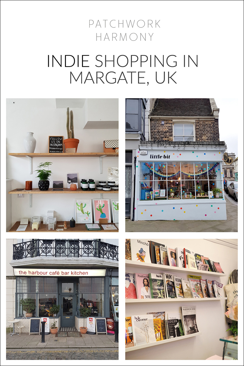 independent shopping guide to Margate, UK