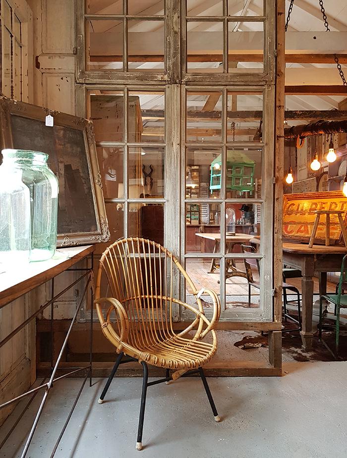 scandi style vintage furniture