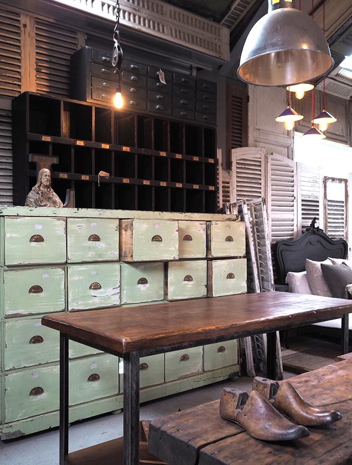 vintage furniture shop Surrey