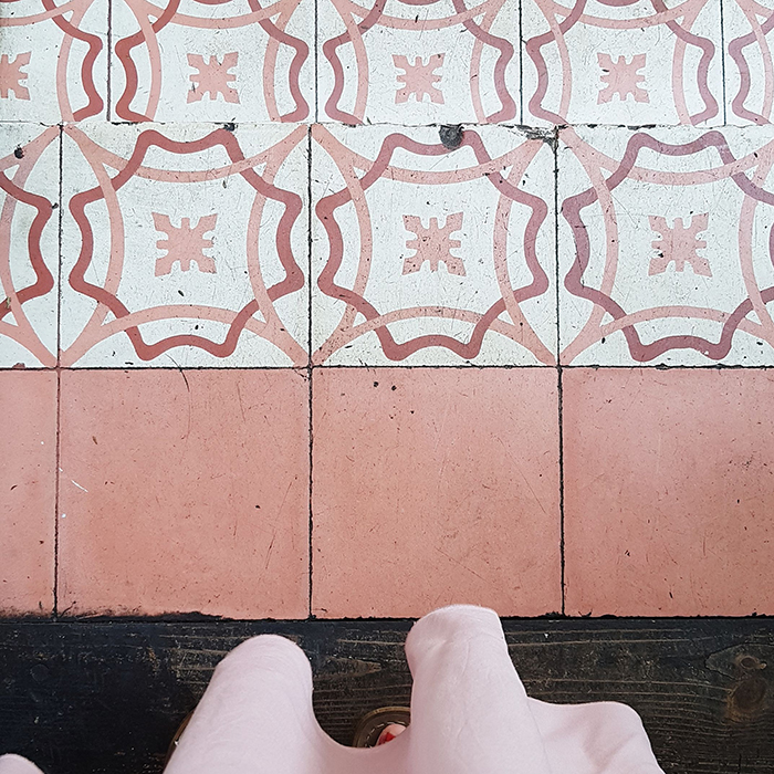 dreamy tiles in Mexico City