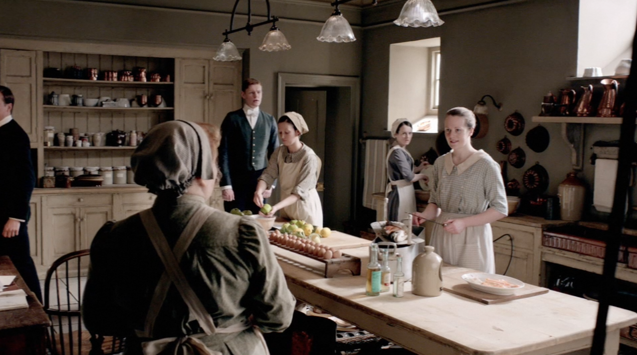 Downton Abbey Kitchen And Servant S Hall Sets Ginger
