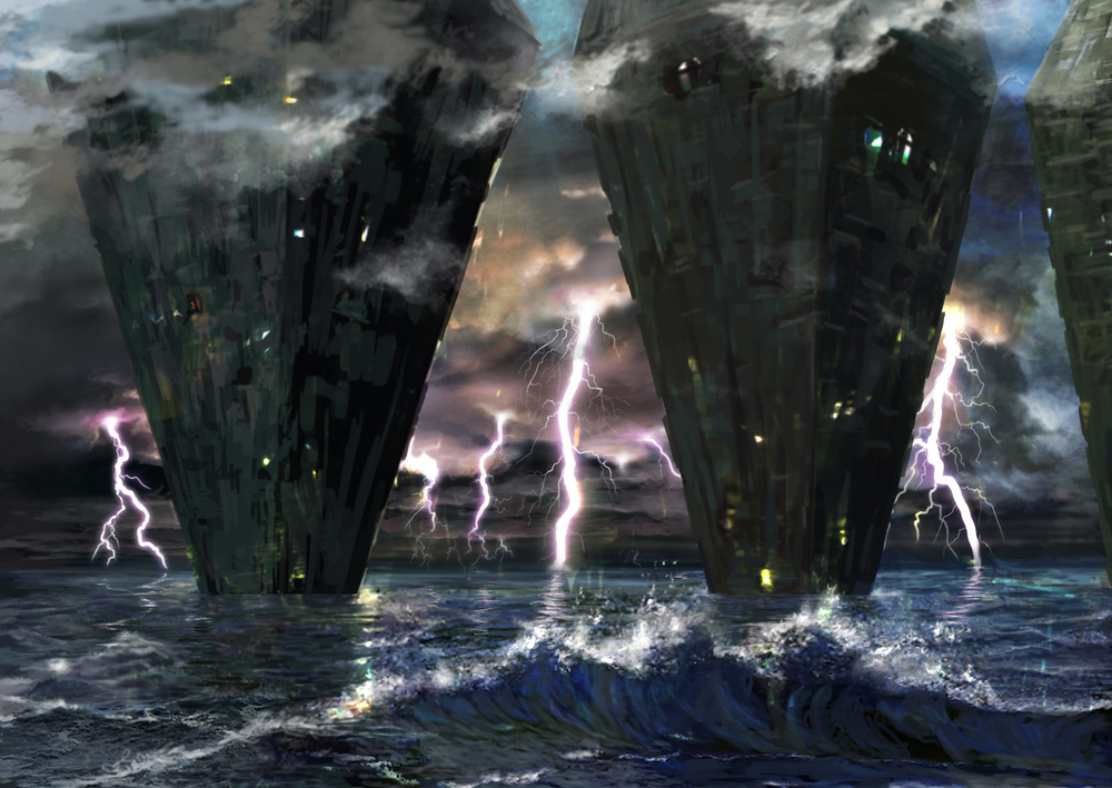 Hedron Island Lightning © Wizards of the Coast