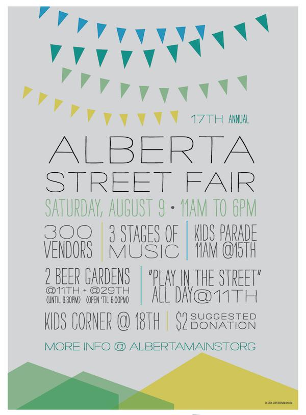 17th Alberta Street Fair