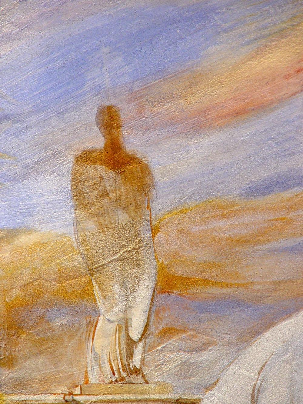 Sunset, Fresco buono (detail)