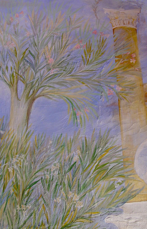 Oleanders true fresco (detail)