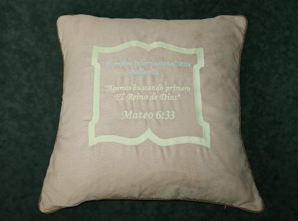 BiBle Scripture Glow Pillow