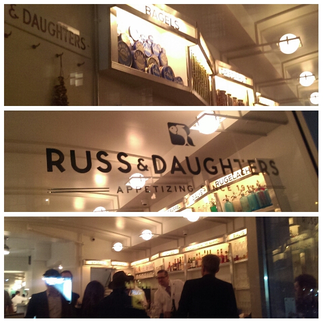Russ and Daughters Cafe  127 Orchard Street New York, NY 10002  The famed Russ and Daughters, celebrating its 100th anniversary this year, opened up a restaurant on  Orchard Street! Come visit Lower East Side  to explore the restaurant!