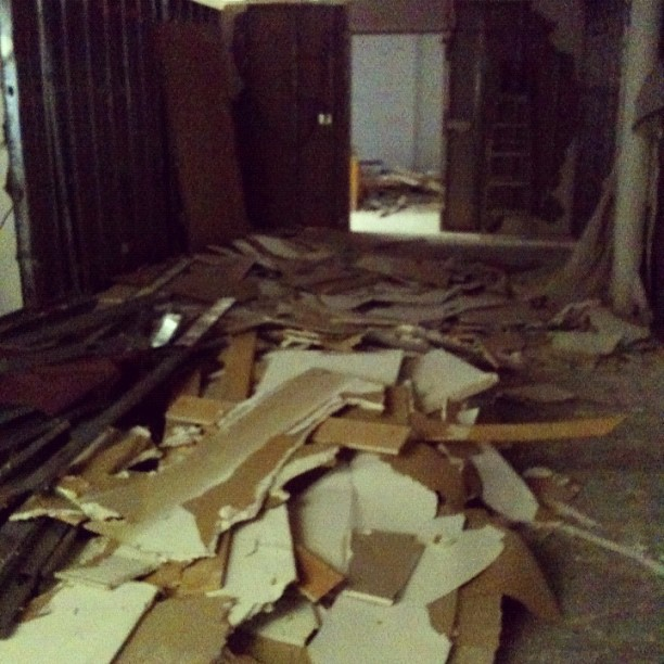 This is what is left of my old Soho studio (Taken with  Instagram )