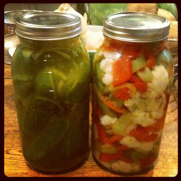 I made pickles. Like everyone else in Bklyn (Taken with  Instagram )
