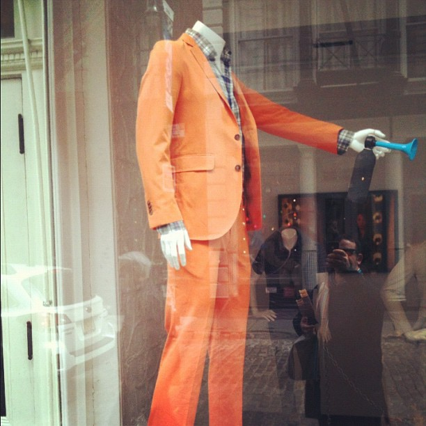 This suit. (Taken with  instagram )