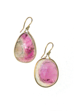 Large unique tourmaline drops, 14K $350.00 whsl