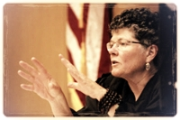 Hon. Mary Morgan (Ret.) will receive the Pride Law Fund Trailblazer award
