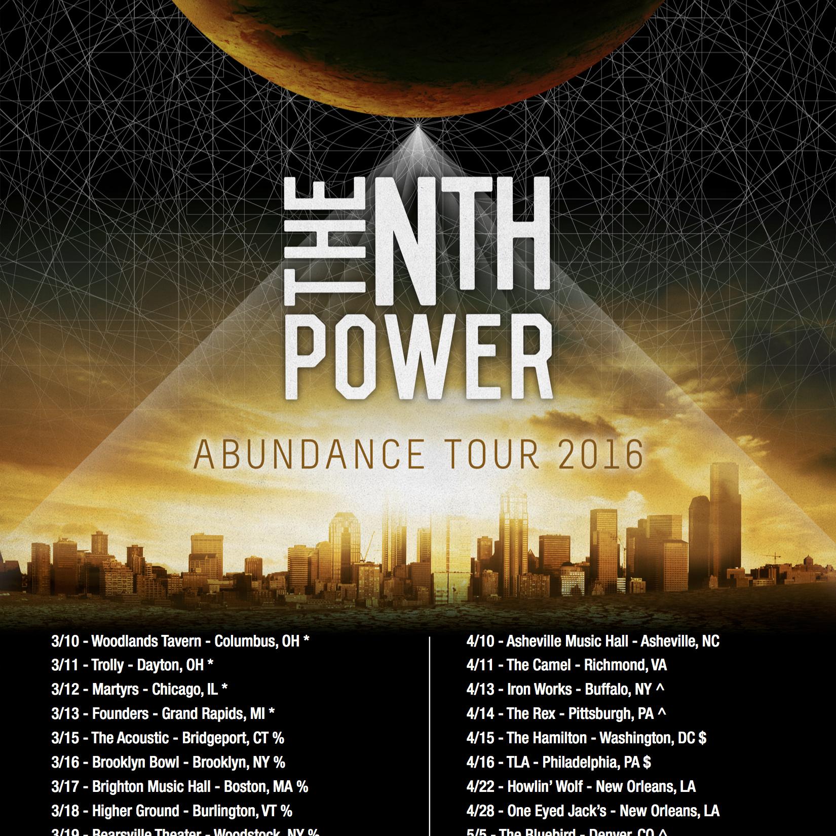 The Nth Power Announce Spring Tour Dates — Mason Jar Media