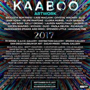 KAABOO Announces ARTWORK Visual Artist 2017 Lineup