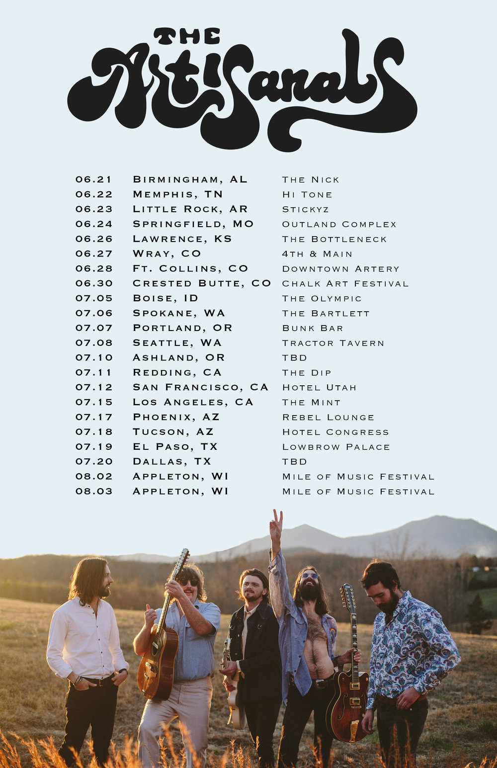 The Artisanals - Concert Dates - updated.jpg