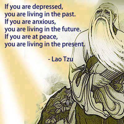Lao Tzu peace and the present