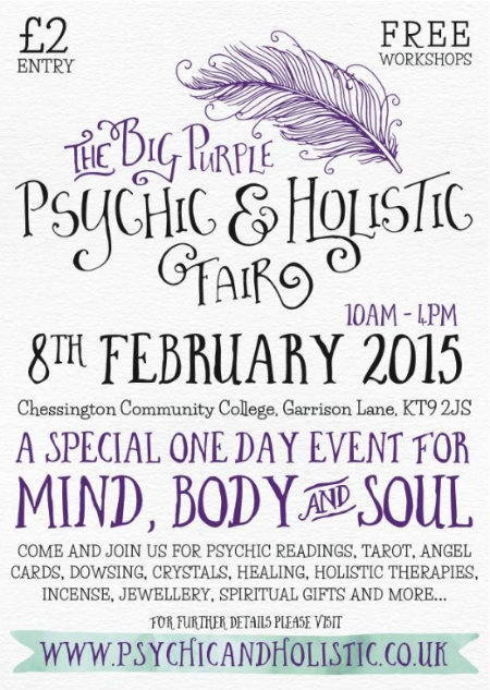 Big Purple Holistic Fair