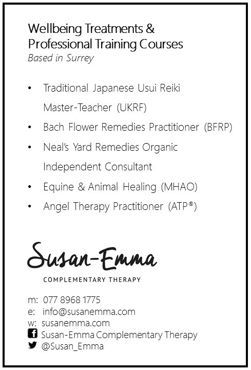 Susan-Emma Complementary Therapy Flyer