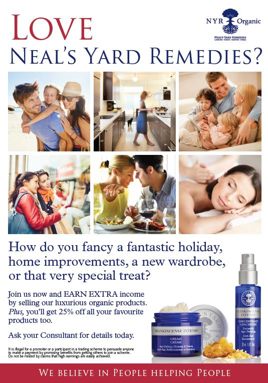 Neal's Yard Remedies Join Now