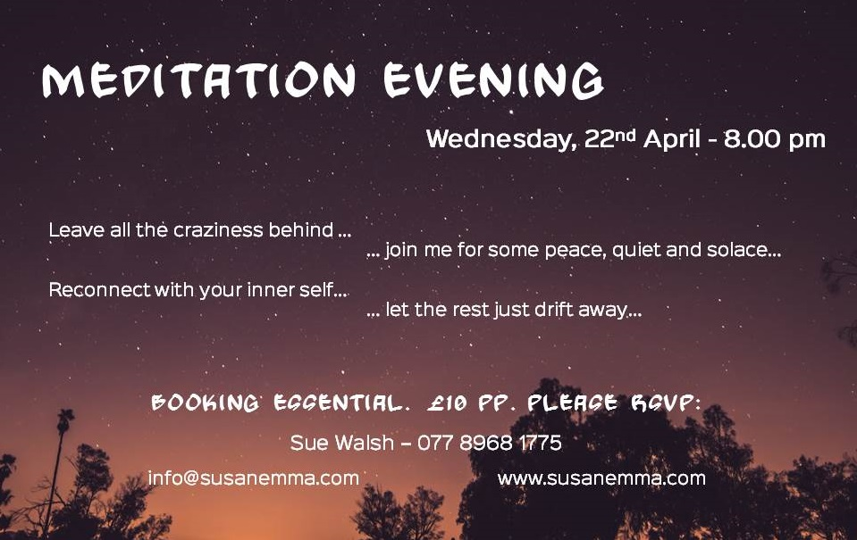 meditation evening April 2015