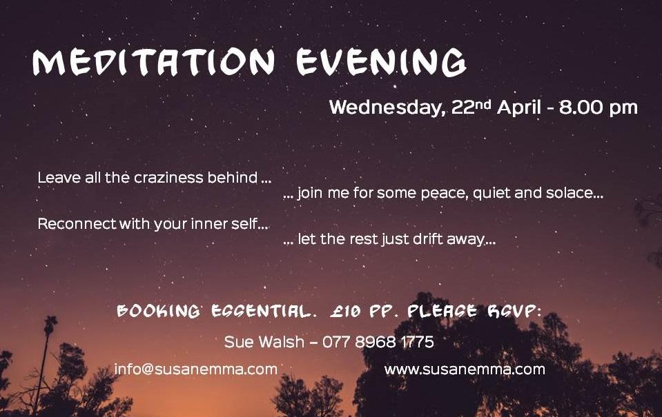 meditation evening April 2015