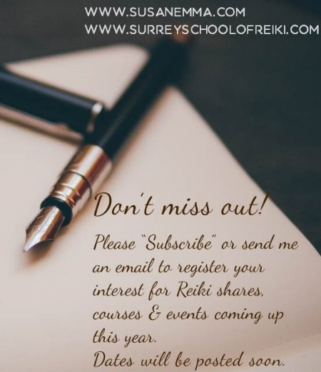 subcribe www.susanemma.com www.surreyschoolofreiki.com