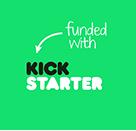Cubee, the illuminating Instagram photo cube, is funded by Kickstarter! (Kickstarter logo)