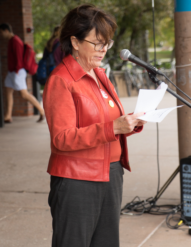 UA President Denise Youngblood kicks off the rally.jpg