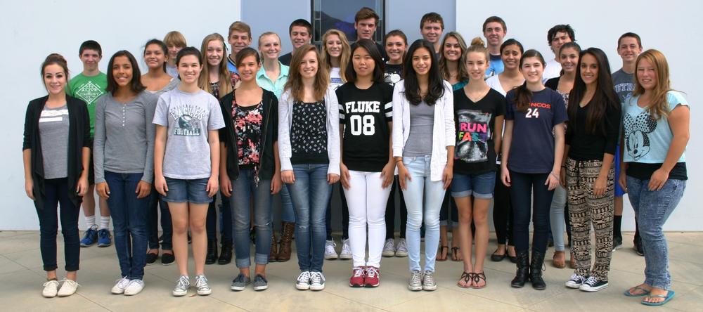 The 2014-2015 California Lutheran High School Exaltation Choir