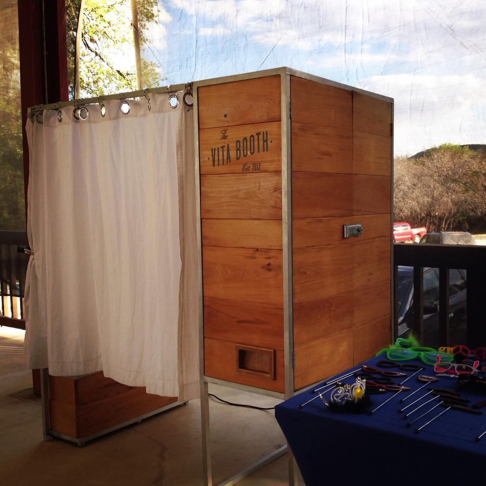 Hill Country Photo Booth Rental
