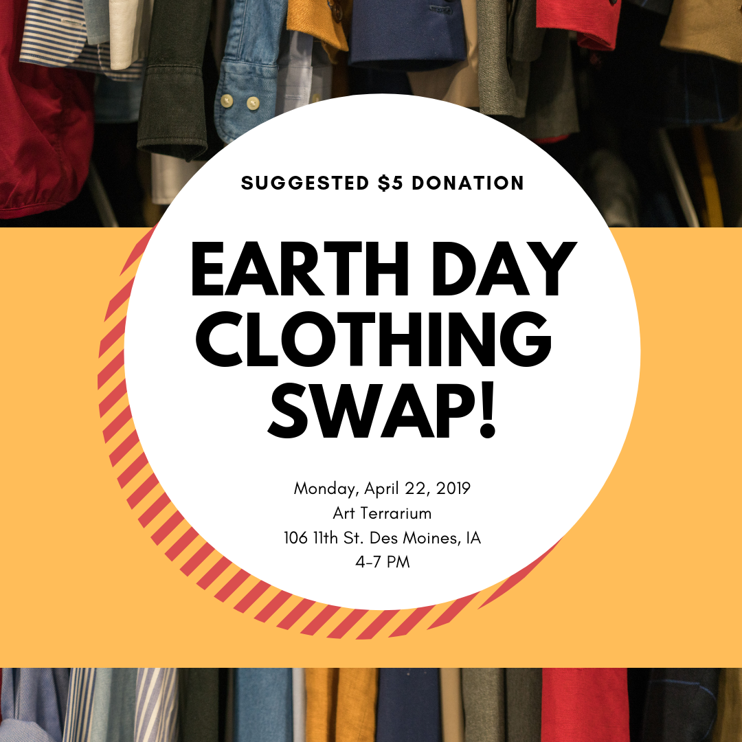 Earth Day Clothing Swap — URBAN AMBASSADORS