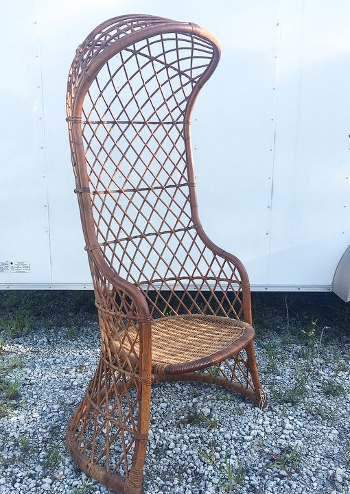 Bali Wicker Cage Chair