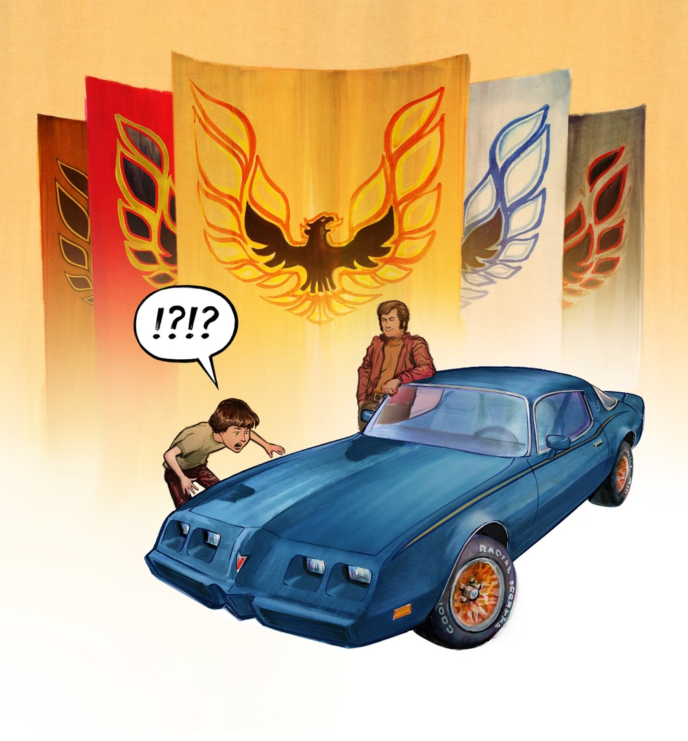 Illustration for Autoweek Magazine