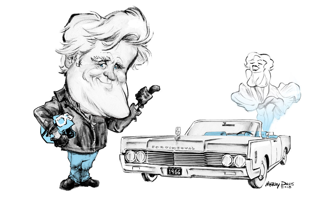 jay leno and his '66 lincoln