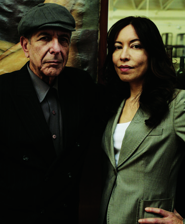 Leonard Cohen and Anjani Thomas